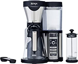 Ninja Coffee Bar Brewer, Glass Carafe, Silver (Renewed)