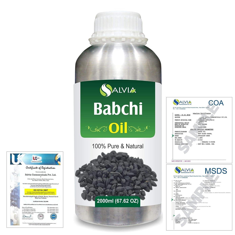 ラリーベルモント完了ハドルBabchi (Psoralea Corylifolia) 100% Pure Natural Oil 2000ml/67 fl.oz.