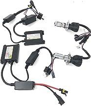 Kit de luces de xenón slim HID H4-3,6000K, 35W. Para automóvil. Color blanco hielo