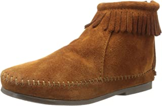 Minnetonka Back Zipper Boot (Toddler/Little Kid/Big Kid)