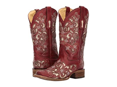 Corral Boots A3327 (Red) Cowboy Boots