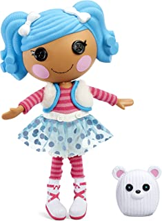 """Lalaloopsy Doll - Mittens Fluff 'N' Stuff with Pet Polar Bear, 13"""" Winter-Inspired Doll with Changeable White and Blue Out..."""