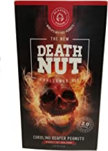 The Death Nut Challenge Version 2.0 Carolina Reaper Peanuts new and improved with better flavor, crunch, pepper blends including Ghost Pepper, Moruga Scorpion makes the perfect gift
