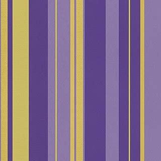 546569 - En Suite Striped Gold & Purple Galerie Wallpaper