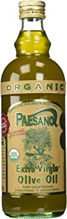 Paesano, Organic Unfiltered Extra Virgin Olive Oil, 34 Ounce