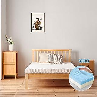 Molblly マットレス シングル ベッドマットレス 低反発+高反発の二層構造 敷布団 寝返りサポート 体圧分散 快適睡眠 抗菌 防臭 防ダニ 睡眠改善 マットレス カバー洗える 収納袋付き 97cm*195cm*10cm