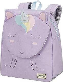 SAMSONITE Happy Sammies 背包小型儿童背包,28厘米,7.5升,多色(独角兽百合花) Unicorn 百合金 Unicorn 百合金