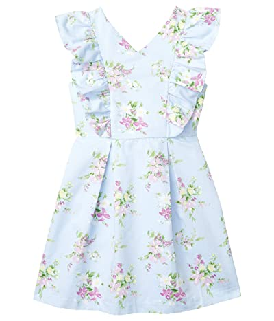 Janie and Jack Sleeveless Floral Dress (Toddler/Little Kids/Big Kids) (Purple) Girl