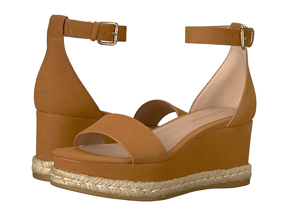 BCBGeneration Addie (Caramel Velour Microsuede) Women