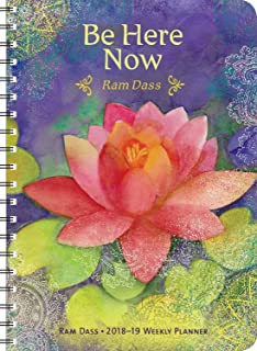 Ram Dass 2018 - 2019 On-the-Go Weekly Planner: 17-Month Calendar with Pocket (Aug 2018 - Dec 2019, 5 x 7 closed)