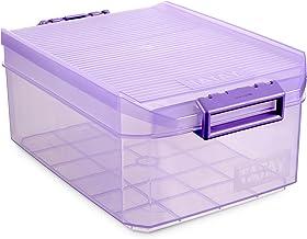 Tatay Storage Box, 4.5 L, Polypropylene, Purple, One Size