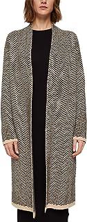 ESPRIT Mit Wolle: Heringbone-Cardigan