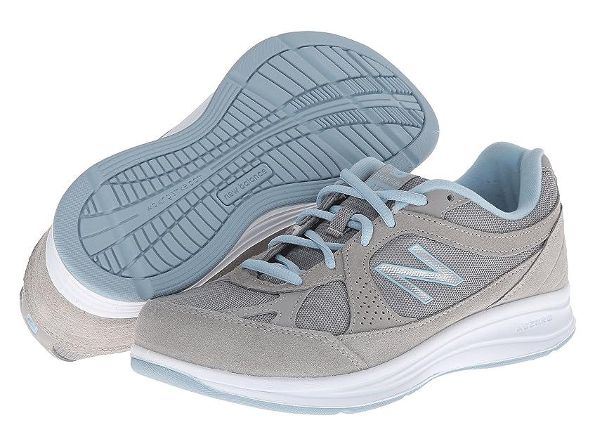照らす悪用少年[new balance(ニューバランス)] レディースウォーキングシューズ?靴 WW877 Silver 5 (22cm) EE - Extra Wide [並行輸入品]