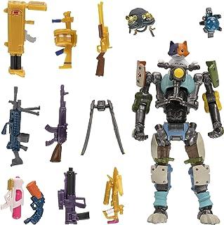 """Fortnite FNT0796 Supply Llama, inclusief zeer gedetailleerde en gelede 4"""" Kit Figuur, 9 wapens, 4 Back Bling. meer outfits..."""