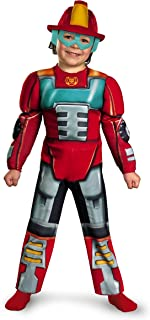 Disguise Inc Unisex Child Transformers Heatwave Muscle Toddler Costume