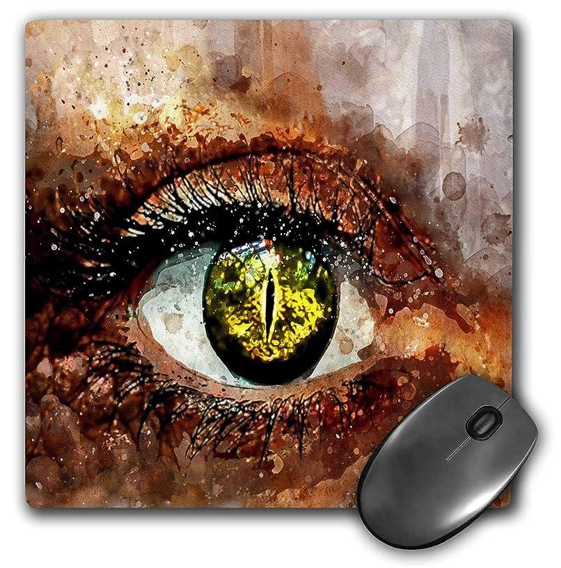 3dRose Lens Art by Florene - Watercolor Art - Image of Watercolor of Human Eye in Closeup - Mousepad (mp_306887_1)