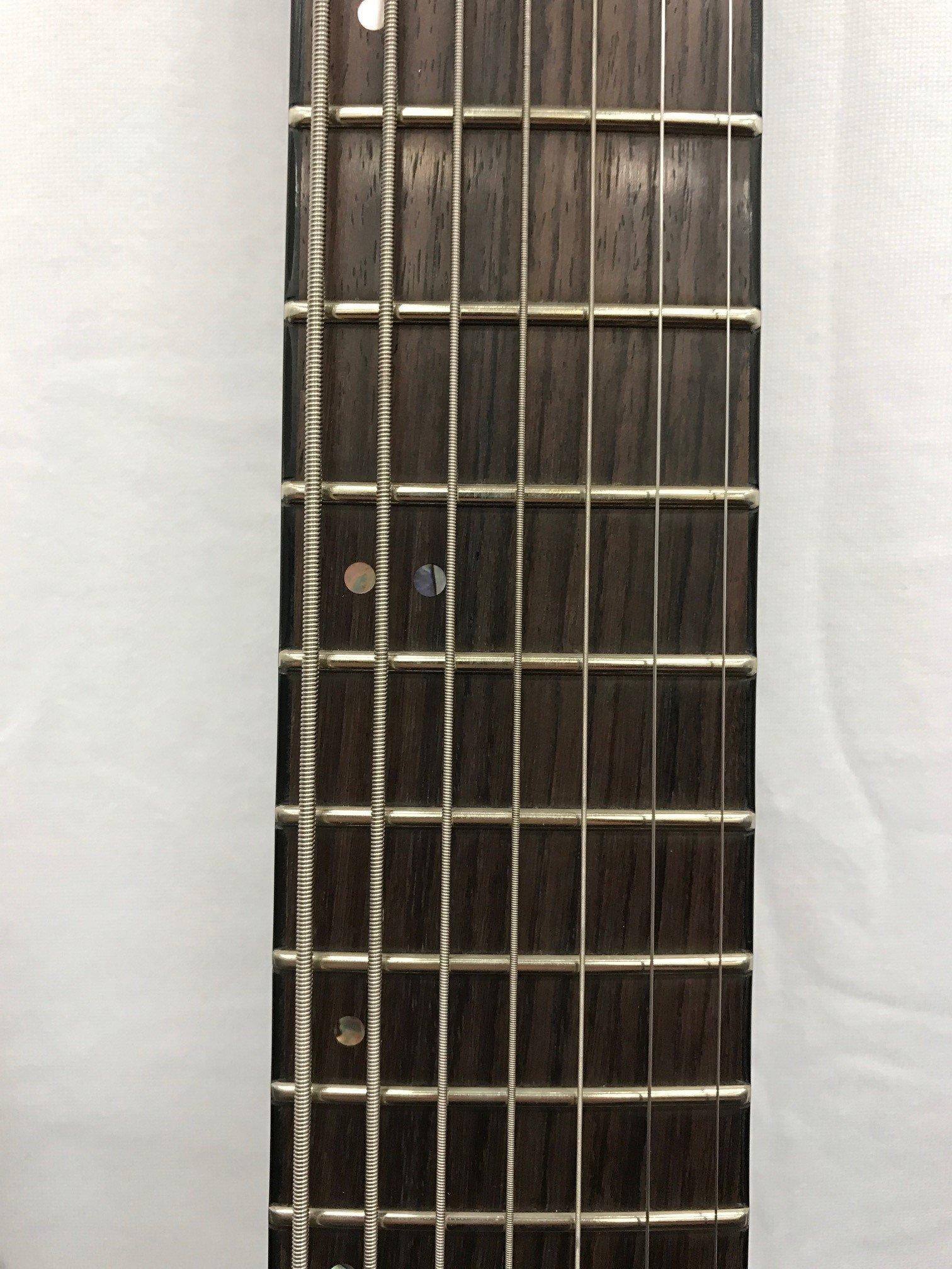 Fernandes Revolver Limited 7 - Guitarra barítona, color negro ...