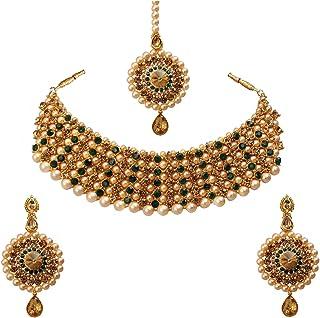 Green Women's Jewellery Sets: Buy Green Women's Jewellery Sets