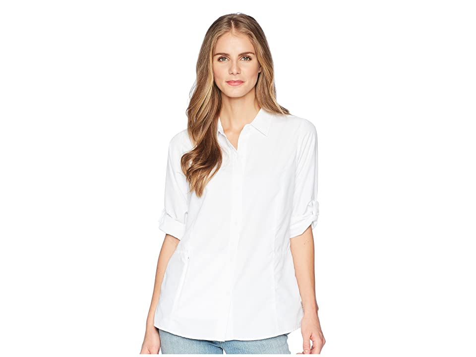 ExOfficio BugsAway(r) Brisa Long Sleeve Top (White) Women