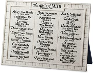 abc's of faith plaque