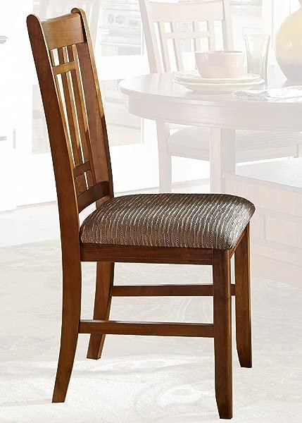 Liberty Furniture INDUSTRIES 25 C8600S Santa Rosa Rub Dining Side Chair 18 X 18 X 39 Mission Oak