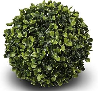 Silkenbloom Brand Artificial Boxwood Ball Sphere Topiary Orb Gerald Indoor/outdoor (7