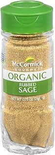 McCormick Gourmet Organic Rubbed Sage, 0.75 oz