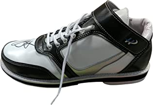 Mens High Top Multicolor Bowling Shoes for Right Handed Bowler, Unique Style Classic Design, Soft, Light Weight Sole