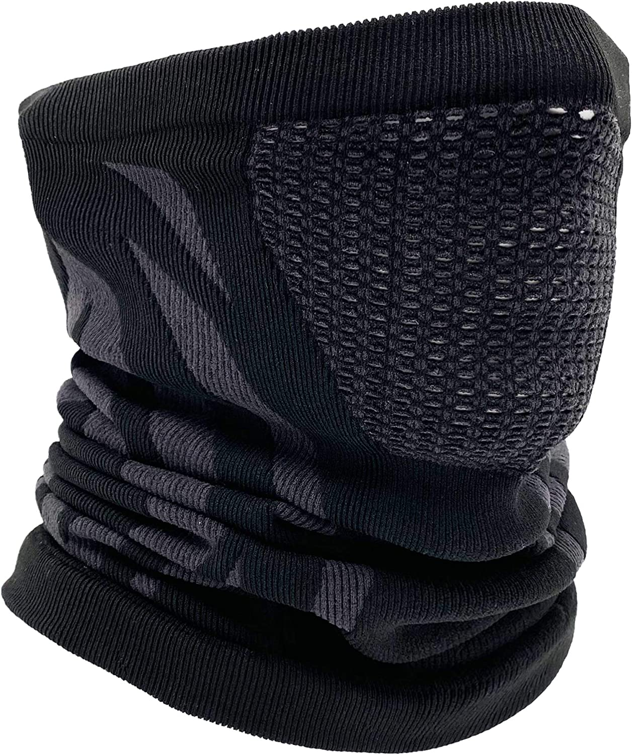 Winter Neck Warmer, Neck Gaiter Face Mask Scarf for Men Women Cold Weather Skiing Running Cycling Breathable Windproof