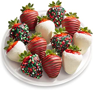 12 Count Holly Jolly Chocolate Covered Strawberries