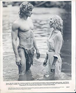 Vintage Photos 1981 Press Photo Miles O Keefe Actor Bo Derek Celebrity Tarzan Ape Man 8X10