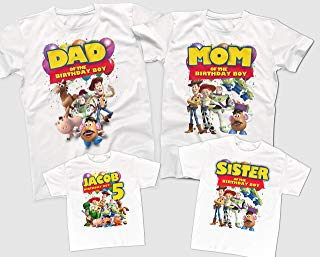 Toy Story Birthday Shirts, Custom Birthday Shirts, Family Birthday Party Shirts, Toy Story themed Birthday Party