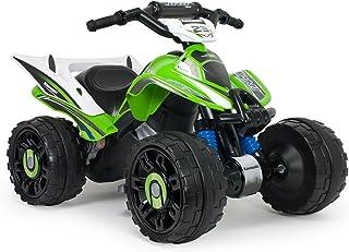 INJUSA- Kawasaki ATV Estable y Resistente de baterí, Color Verde (66055)