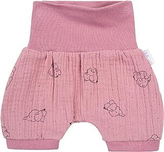 rosa /· /Ökotex 100 Zertifiziert /· Gr/ö/ßen 50-128 Kleine K/önige Pumphose Baby M/ädchen Hose /· Modell Rosen Pink Roses