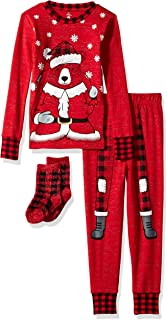 Kids' Little Holiday Unisex Pajama Set, Comfy, Cute and Cozy Softness
