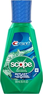 Crest Scope Outlast Mouthwash, 500 ml