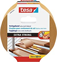 tesa Flooring Tape Extra Strong Hold, 25m x 50mm, wit