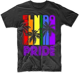 El Nido Pride Gay Pride LGBTQ Rainbow Palm Trees T-Shirt