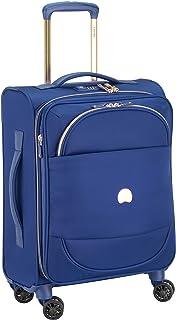 Delsey Paris MONTROUGE Hand Luggage, 55 cm, 35,6 liters, Blue (Blau)