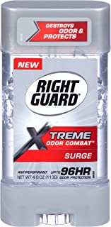 Right Guard Antiperspirant & Deodorant Xtreme Odor Combat Surge Gel, 4 Ounce