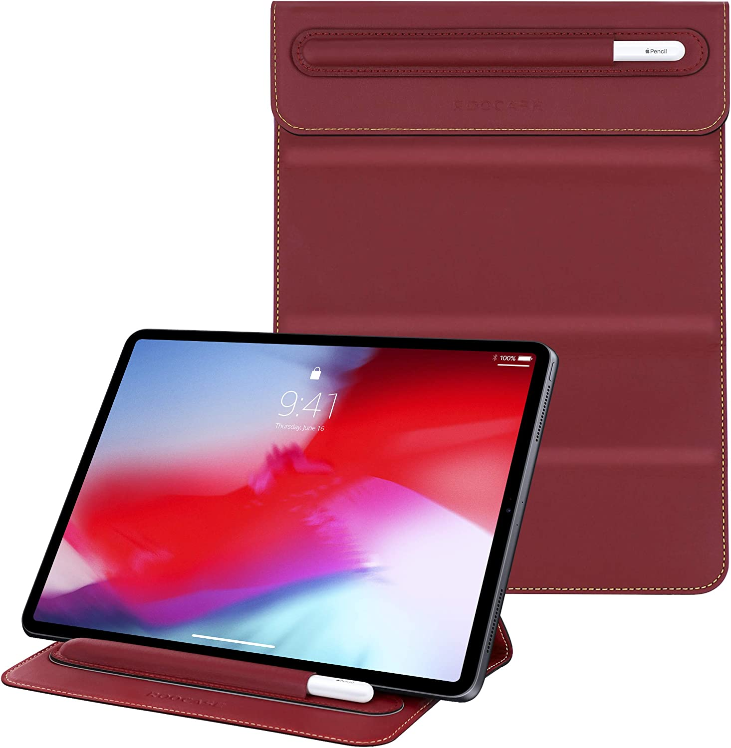 rooCASE Olvera iPad Sleeve with for SEAL limited product Stand 10.2 New 9. Las Vegas Mall