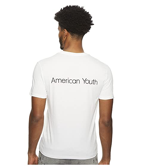Neck Tee Klein Youth American Calvin Jeans Crew YZSRWdnaX