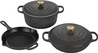 Le Creuset Enameled Cast Iron Signature Cookware Set, 5 pc. , Stone