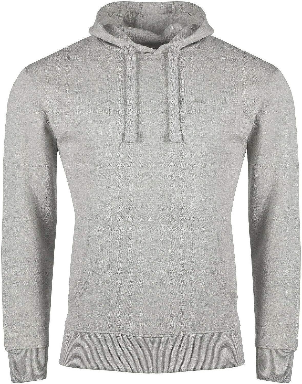 Fashion Solid Pullover Hooded Sweatshirt Hoody Jumper Classic Work Wear Tops