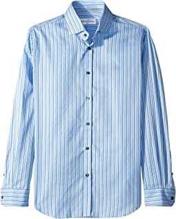 Abel Stripe Long Sleeve Dress Shirt