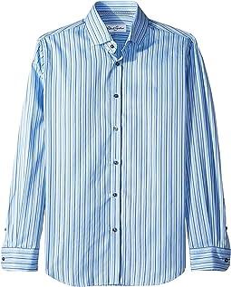 Abel Stripe Long Sleeve Dress Shirt