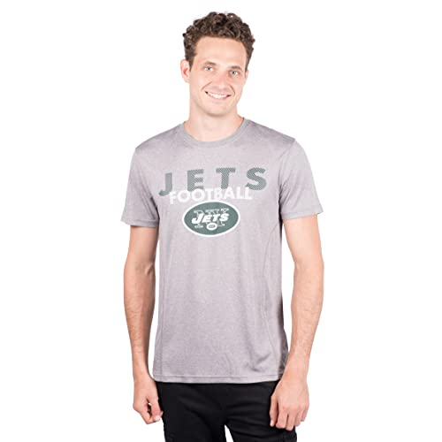 b1252627e Icer Brands NFL Men s T-Shirt Athletic Quick Dry Active Tee Shirt