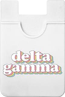Delta Gamma - Retro Koala Pouch - Adhesive Cell Phone Wallet