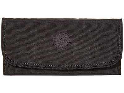 Kipling Money Land RFID Wallet (Black Noir) Handbags