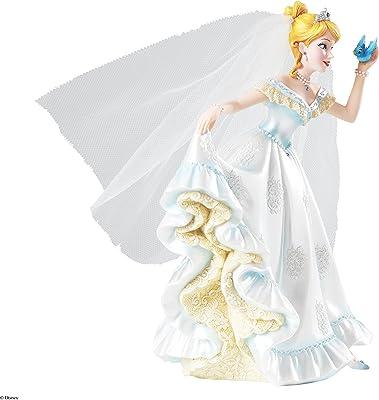 Amazon Com Enesco Disney Showcase Cinderella Bridal Figurine 8 Inch Home Kitchen